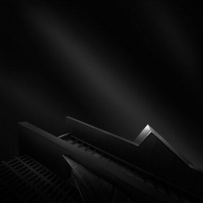 Ode to Black V - Endless Black © Julia Anna Gospodarou