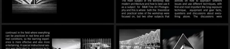 Athens Architectural Photography Workshop 2012 – Feature Article - Artphotofeature Fine Art Magazine