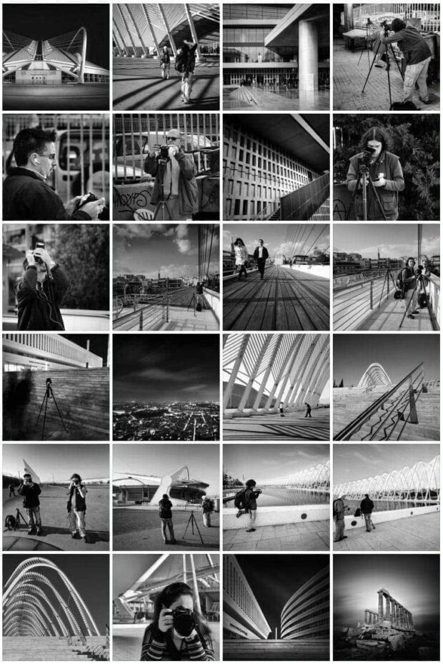 Athens Architectural Photography Workshop 2012 - Behind The Scene Shots