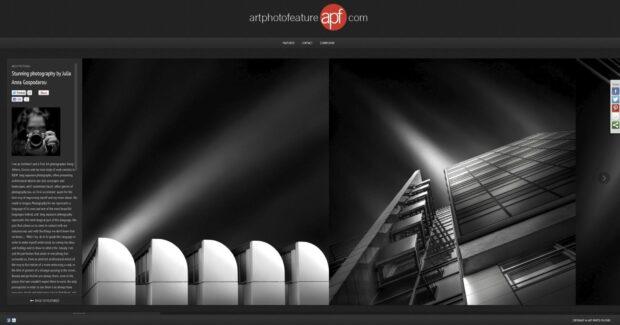 Portfolio Feature and Artist Presentation in Artphotofeature