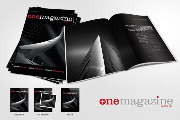 Cover Photo & Fine Art Print - Plus One Magazine - First Issue - Architecture