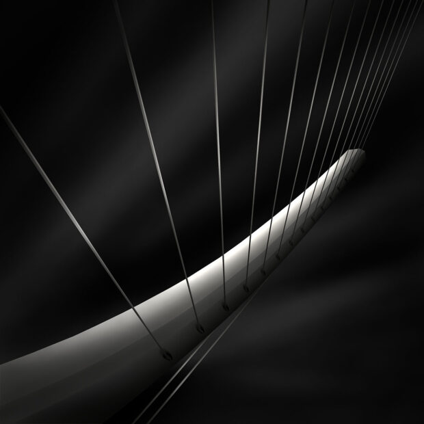 Like A Harp's Strings IV - Radiating © Julia Anna Gospodarou 2012