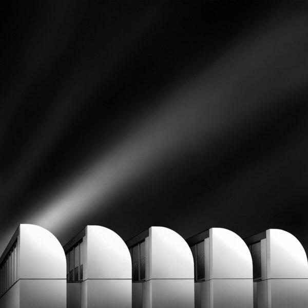 A Path To The Sky IV - Waves In The Sky - Bauhaus Museum Berlin Walter Gropius © Julia Anna Gospodarou 2012