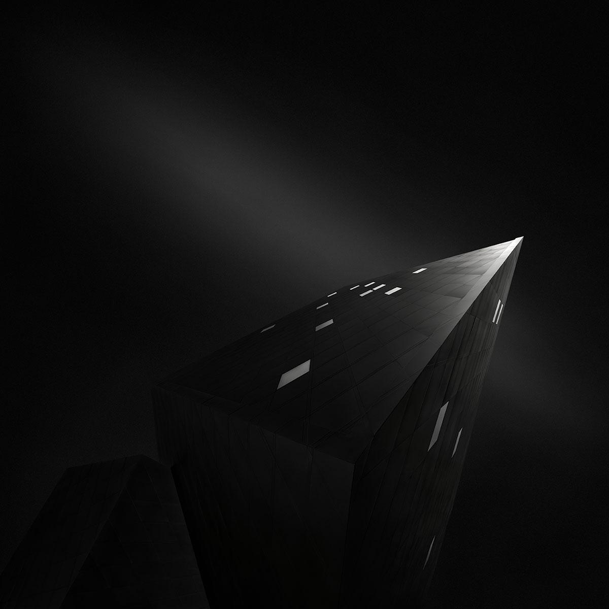 Ode to Black (Black Hope) II - Anima Black © Julia Anna Gospodarou - Recreating the subject in fine art photography.