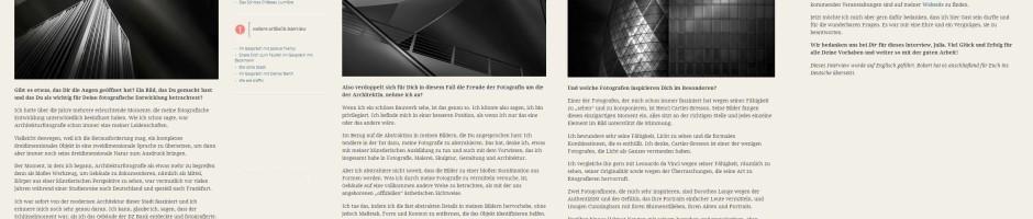 Kwerfeldein Magazine Germany Interview 2013