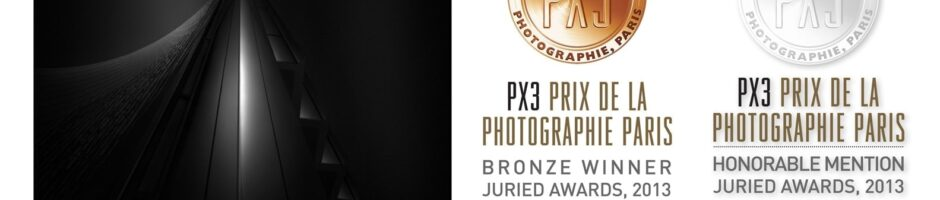 Third Prize & Honorable Mention - PX3 - Prix de la Photographie Paris 2013