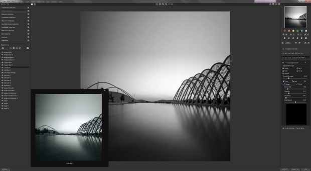 Topaz Labs B&W Effects 2 - Main Interface