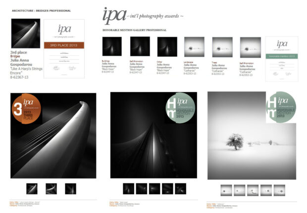 IPA 2013 - International Photography Awards - 3rd Prize Architecture Professionals & Honorable Mentions © Julia Anna Gospodarou