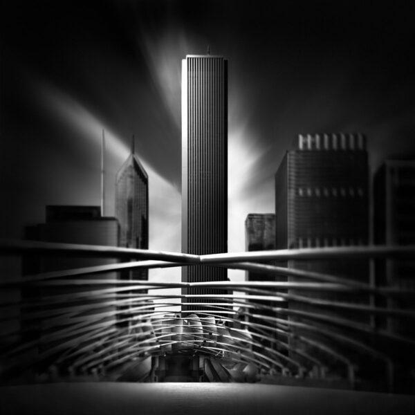 Fluid Time I - Pritzker Pavillion Frank Gehry Chicago © Julia Anna Gospodarou