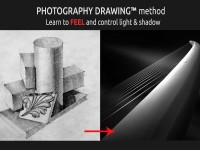 Photography Drawing PhtD™ - Black and white (en)Visioning and processing method
