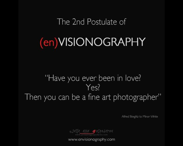 postulates of envisionography - 2nd