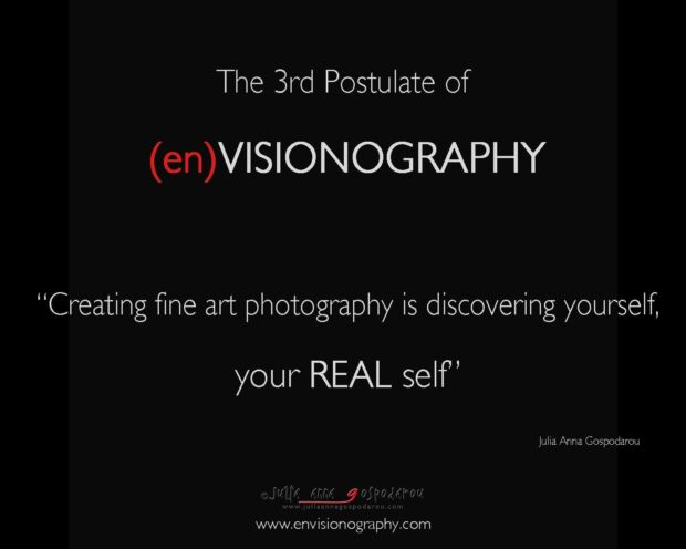 postulates of envisionography - 3rd