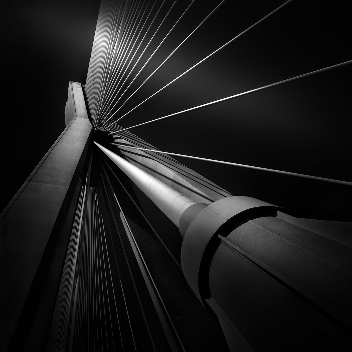 Exuberance I - Rio Antirrio Bridge Patras © Julia Anna Gospodarou - Award-Winning Architectural Photography