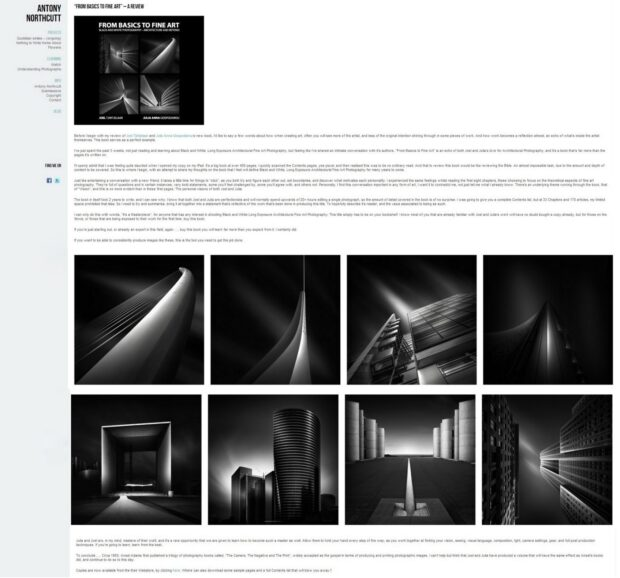 From Basics to Fine Art Book Review by Antony Northcutt