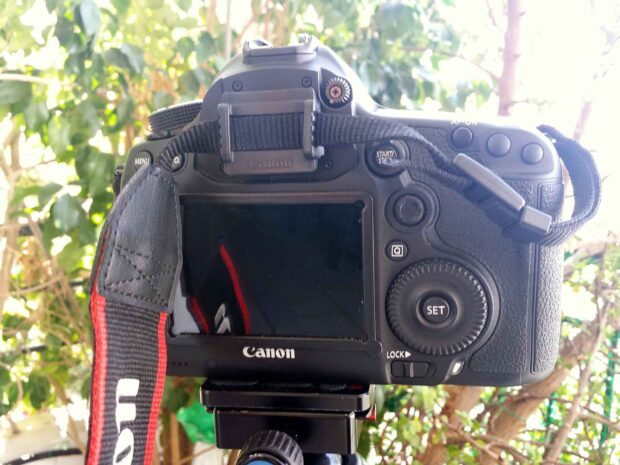 Canon 5D MKIII + Canon TS-E 24mm - Viewfinder cover to avoid light leakage