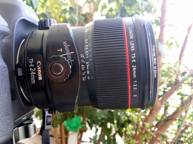 Firecrest 16 IRND Formatt-Hitech on Canon TS-E 24mm