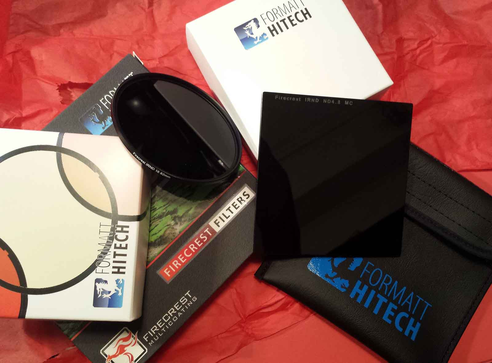 Firecrest 16 Stops Formatt-Hitech ND Filter - Circular and Rectangular filters with package
