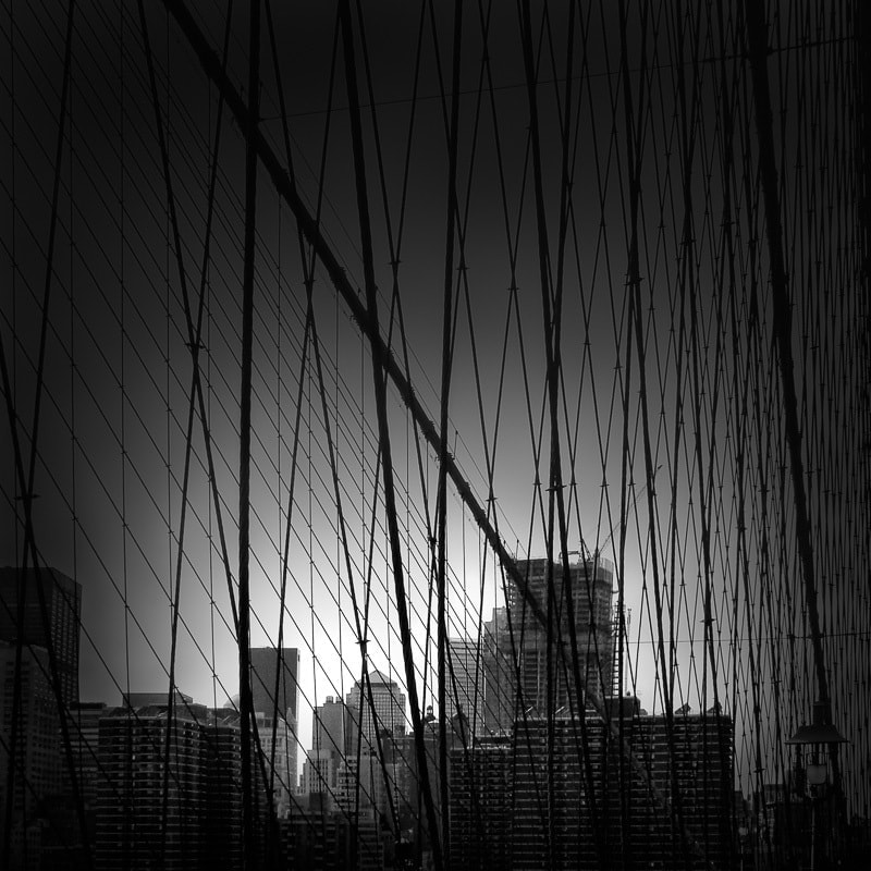 NET-York City - Brooklyn Bridge NYC © Julia Anna Gospodarou - How The Creative Process Works