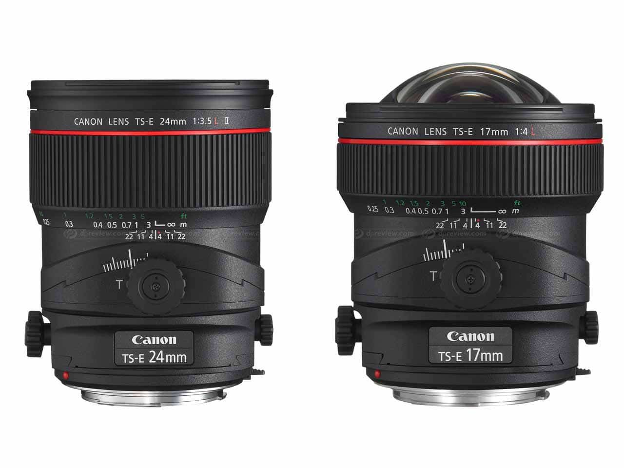 ESSENTIAL GUIDE TO THE TILT-SHIFT LENS The two most popular tilt-shift lenses for architectural photography: the Canon TS-E 24mm f/3.5 L II and Canon TS-E 17mm f/4L