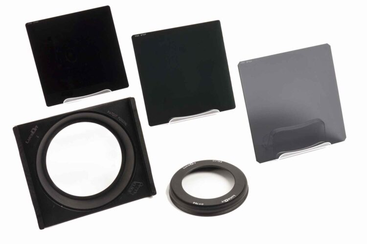 Formatt-Hitech Lucroit holder and ProStop IRND square filter kit,