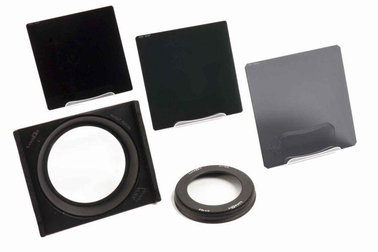 Formatt-Hitech Lucroit holder and ProStop IRND square filter kit,