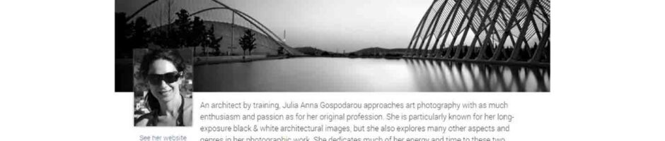 Julia Anna Gospodarou - DxO Labs Image Master of the Month