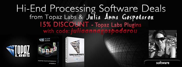 Hi-end software deals Topaz & Julia Anna Gospodarou