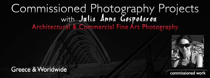 Commisioned Photography Projects with Julia Anna Gospodarou