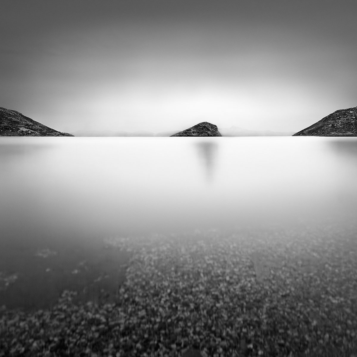 Black and White Processing Without Selections - Sea of Devotion II © Julia Anna Gospodarou - Athens Porto Rafti