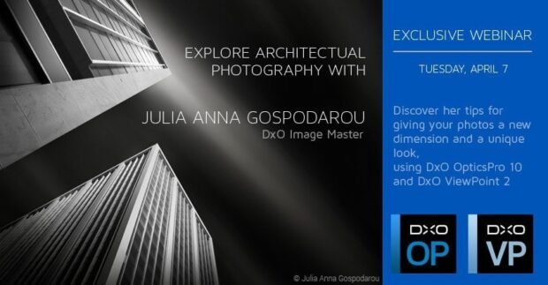 Webinar for DxO - Black and White Fine Art Architectural Photography
