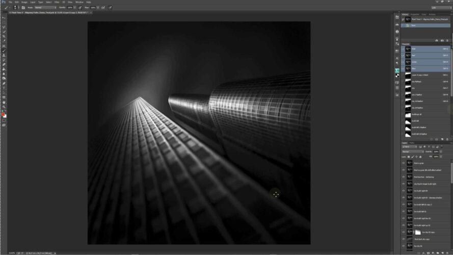 Fluid time V - Aligning Paths © Julia Anna Gospodarou - Post-processing software- Photoshop