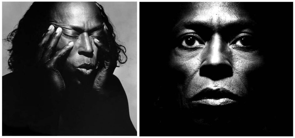 Miles Davis Portraits by Irving Penn