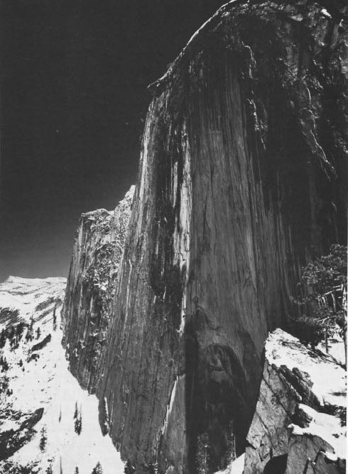 Ansel Adams - Visualization versus Vision - Monolith - Image with red filter
