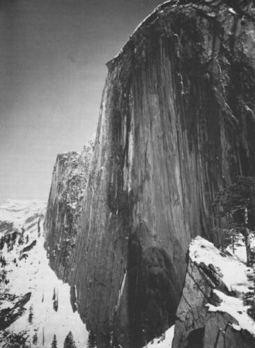 Ansel Adams - Visualization versus Vision - Monolith - Image with yellow filter