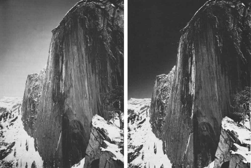 Ansel Adams - Visualization versus Vision - Monolith