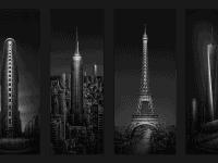 Urban-Saga Tetraptych © Julia Anna Gospodarou 2016 - About creating original fine art photography