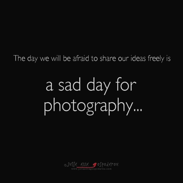 Inspiring from other photographers in the age of Internet