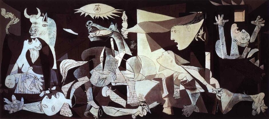 Famous paintings_Pablo Picasso - Guernica