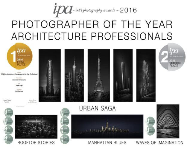 Julia Anna Gospodarou - IPA 2016 International Photography Awards Photographer of the Year Architecture Professionals