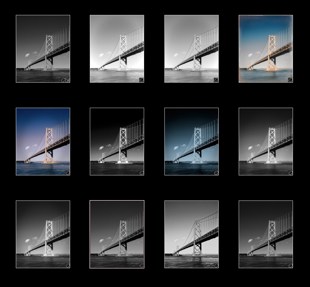 Bay Bridge San Francisco DxO Presets Demo