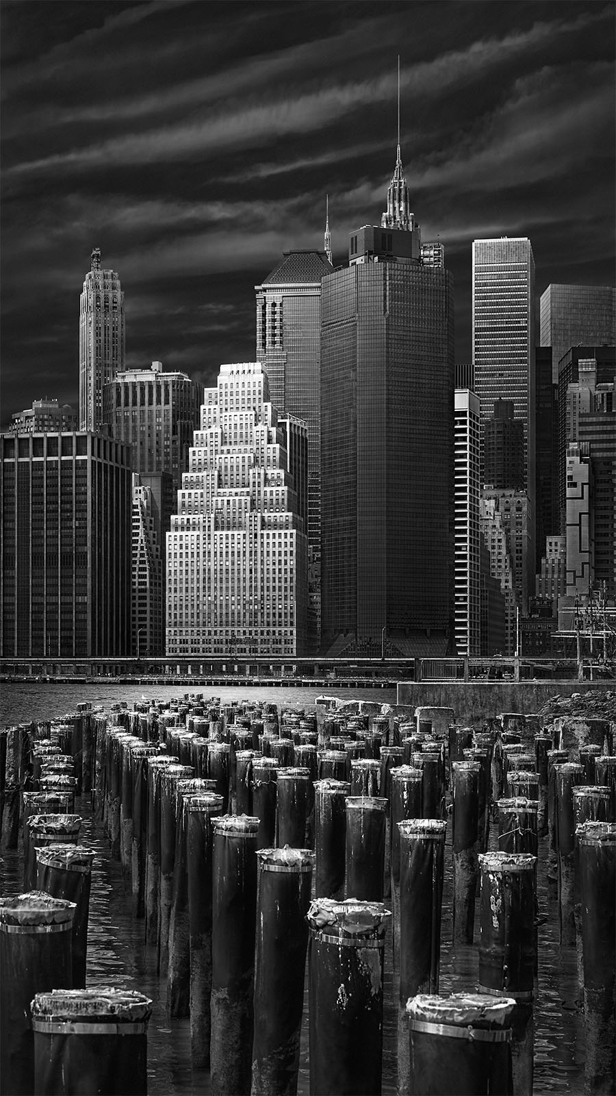 Challenging the status quo in art - All That Jazz - Manhattan Pier New York City ©Julia Anna Gospodarou - Award-Winning Architectural Photography