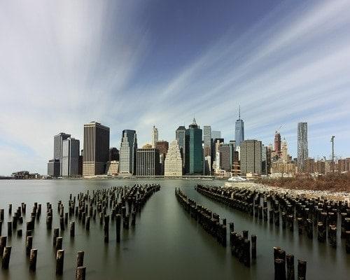 Manhattan waterscape, New York