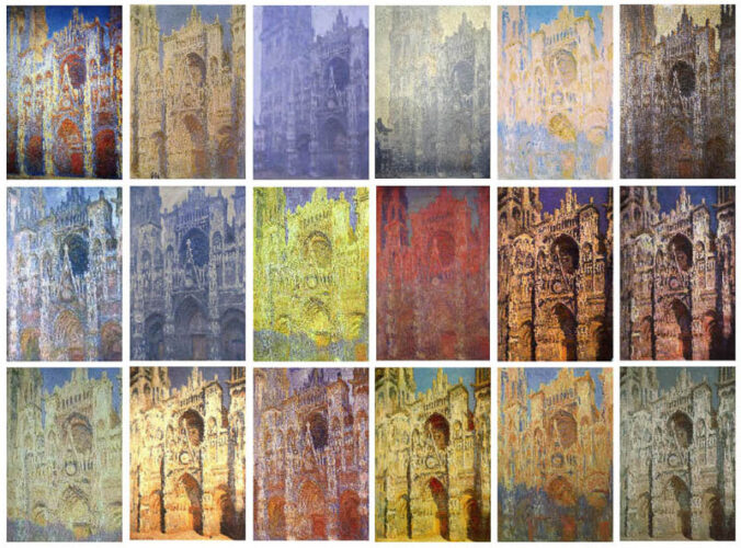 Claude Monet - Rouen Cathedral Series - 1892-1894