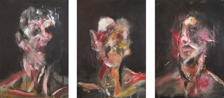 Francis Bacon - Three Studies for Self-Portrait III