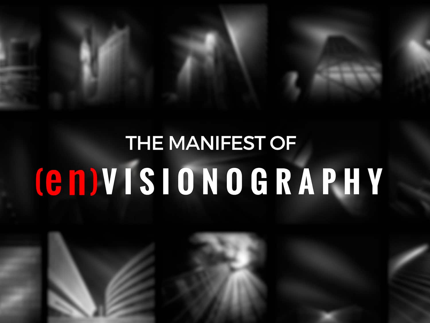 The manifest of enVisionography