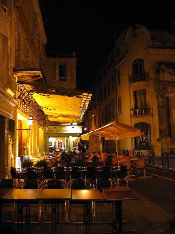 Van Gogh Café Terrace at Night recreated by Greg Emel