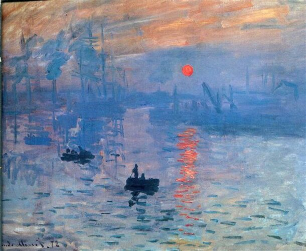 Claude Monet - Impression Sunrise - Impression Soleil levant - 1873