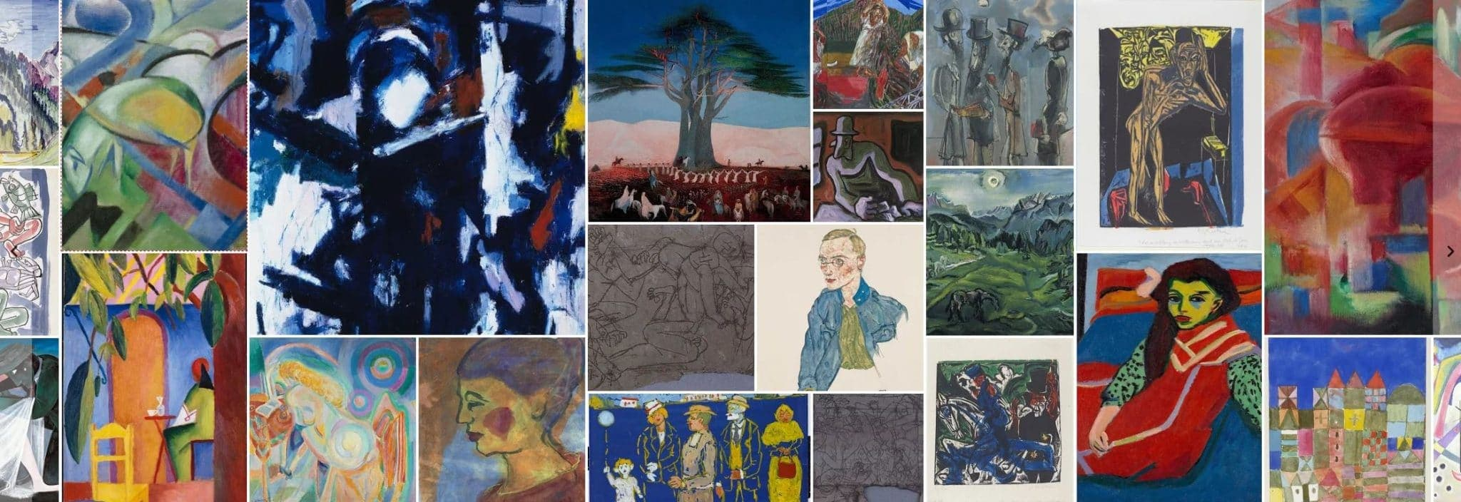 Expressionism - Paintings - 1890-1930