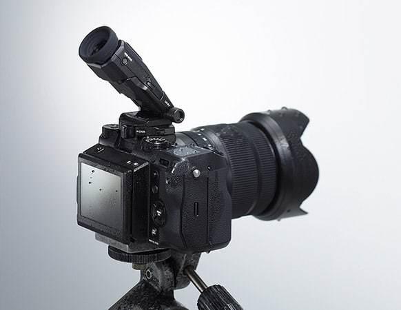 Fujifilm GFX 50S with tilt viewfinder