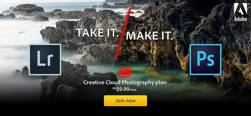 Adobe creative cloud photography plan - photoshop cc, lightroom cc, lightroom classic cc